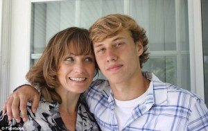 Matthew and mom